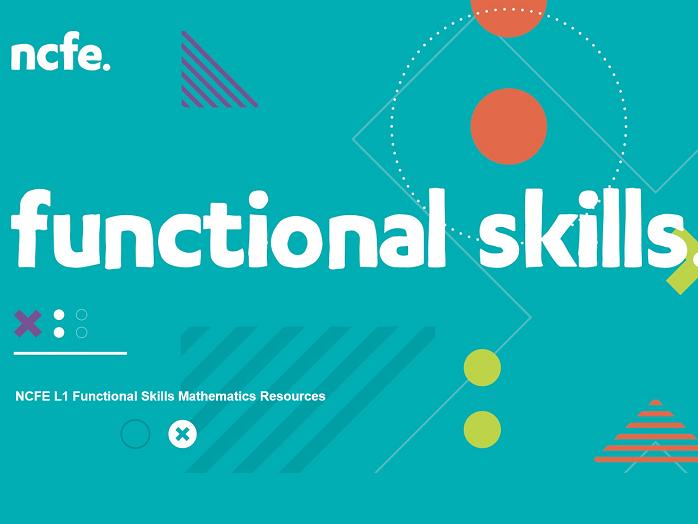 NCFE L1 Functional Skills Mathematics Resources