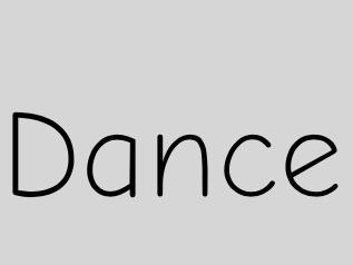 Dance vocabulary