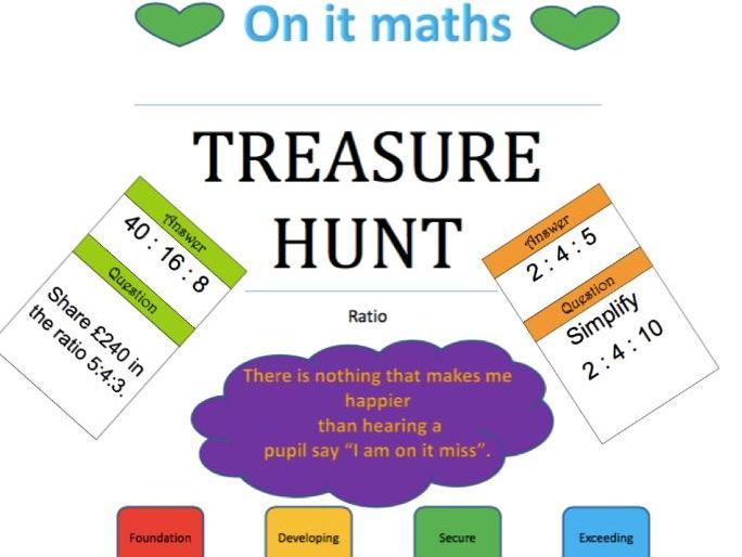 Ratio - Treasure Hunt