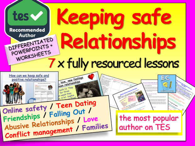 Relationships and Safety Education