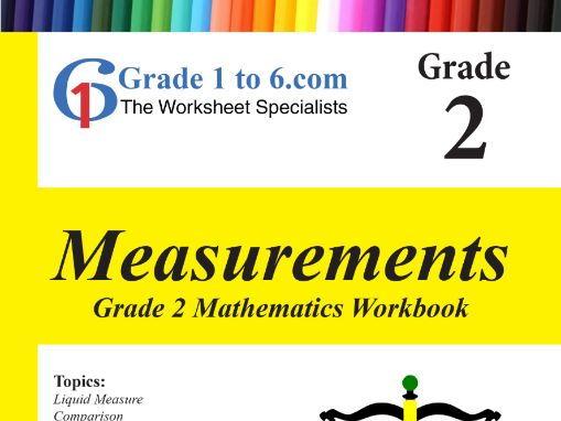 Measurement: Grade 2 Maths Workbook from www.Grade1to6.com Books