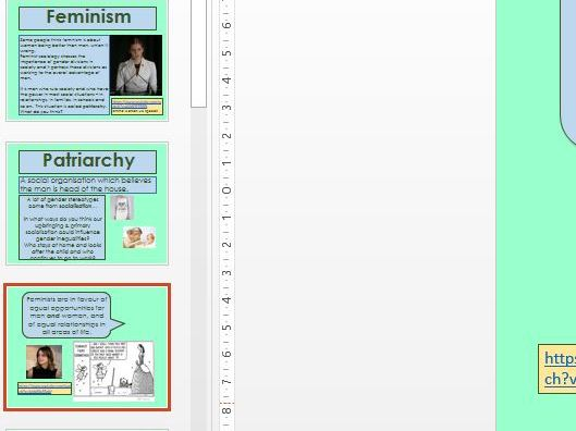 Feminism; Marxist feminism, Radical feminism, Liberal feminism overview and criticisms