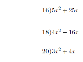 Completing the square worksheet (with detailed solutions)