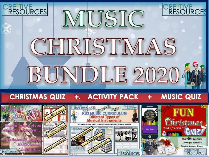 Music Christmas Bundle
