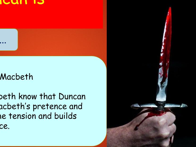 KS4 GCSE Macbeth Act 2 Scene 3