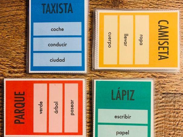 Spanish tabú - GCSE
