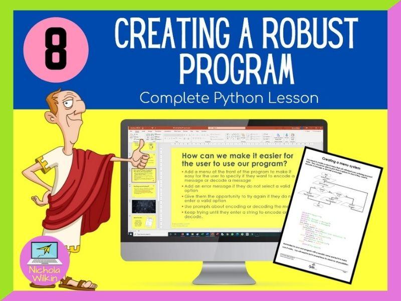 Python Creating Robust Programs