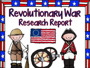 Revolutionary War Research Report
