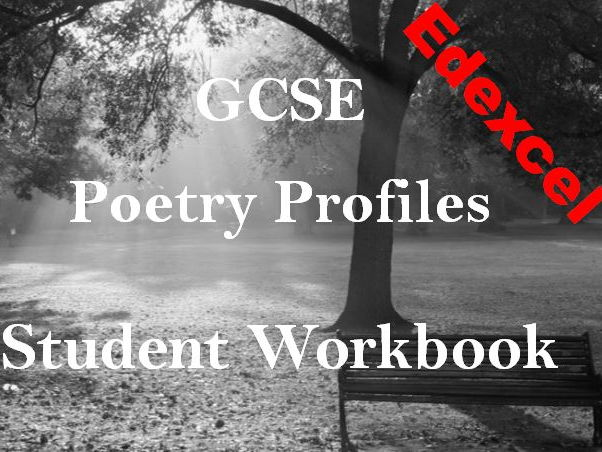 Student Poetry Workbook - Edexcel Time and Place - Grids for Poetry Analysis + Exam Preparation