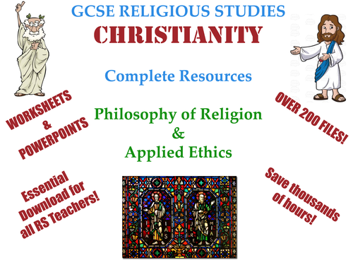 GCSE Christianity  - THE ULTIMATE KS4 RESOURCE PACK [Over 220 Files!]