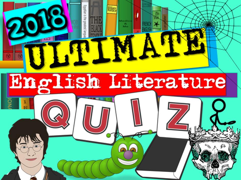 English Literature Quiz