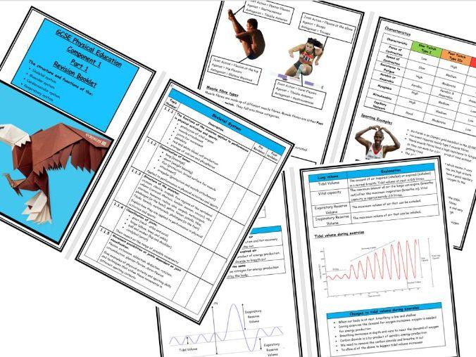 GCSE PE - Edexcel - Component 1 Revision Booklet - Part 1
