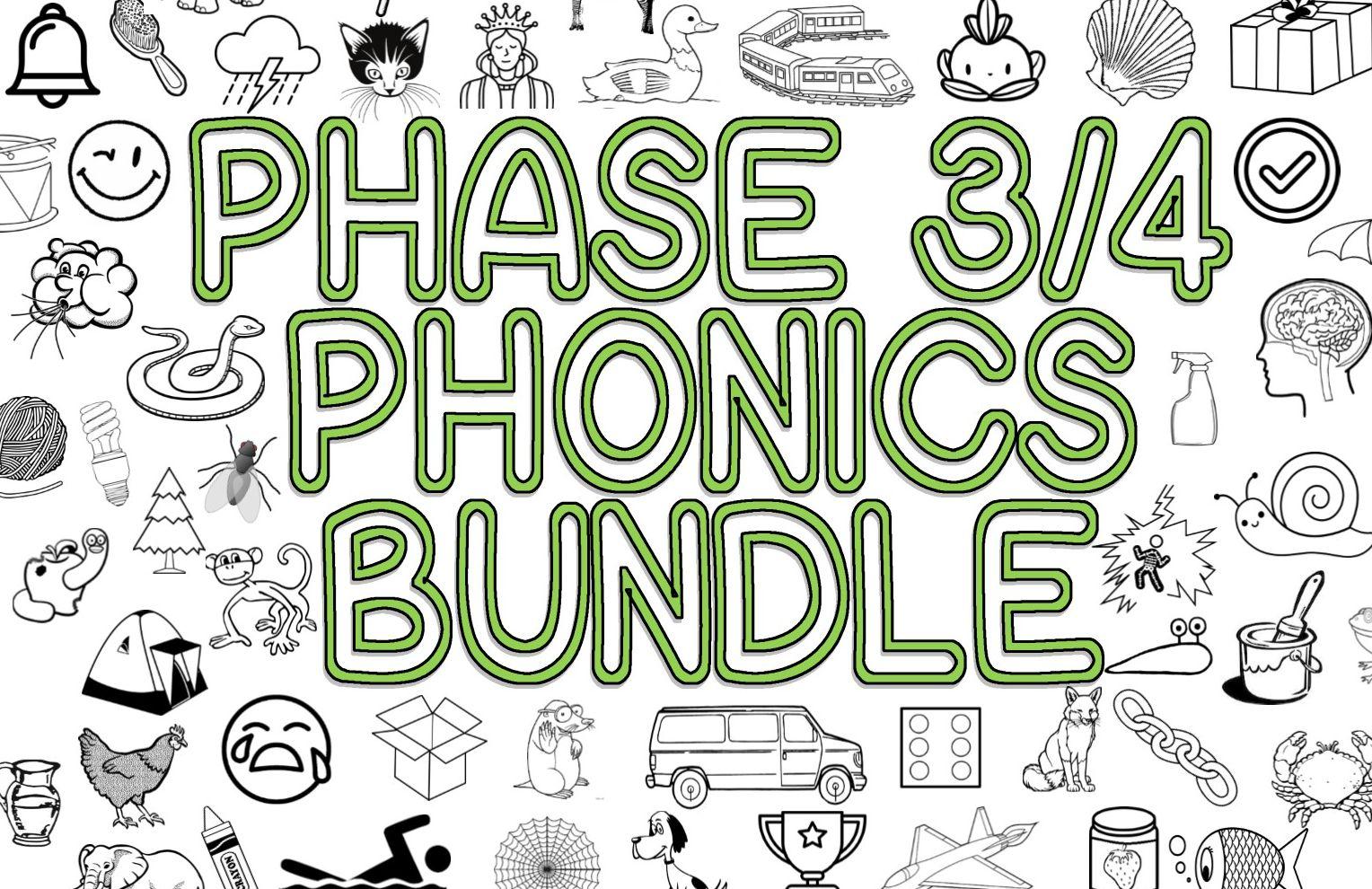 Phase 3/4 Phonics Bundle