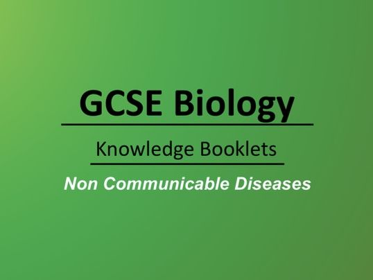Non Communicable Diseases Knowledge Booklet