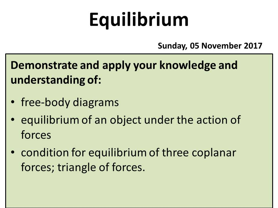 Equilibrium a level physics ocr a by peteriley teaching cover image ccuart Gallery