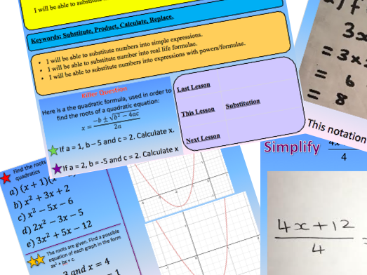 Algebra Bundle 20% off