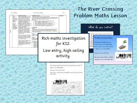 Maths Investigation - The River Crossing Problem (KS2)