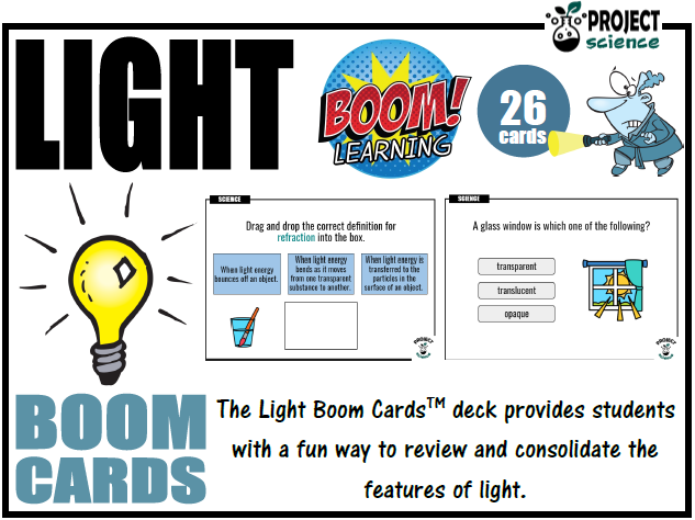 Light Boom Cards™ - Distance Learning