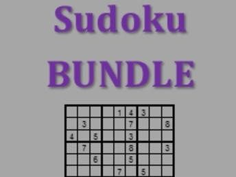 Sudoku Basics in German Bundle