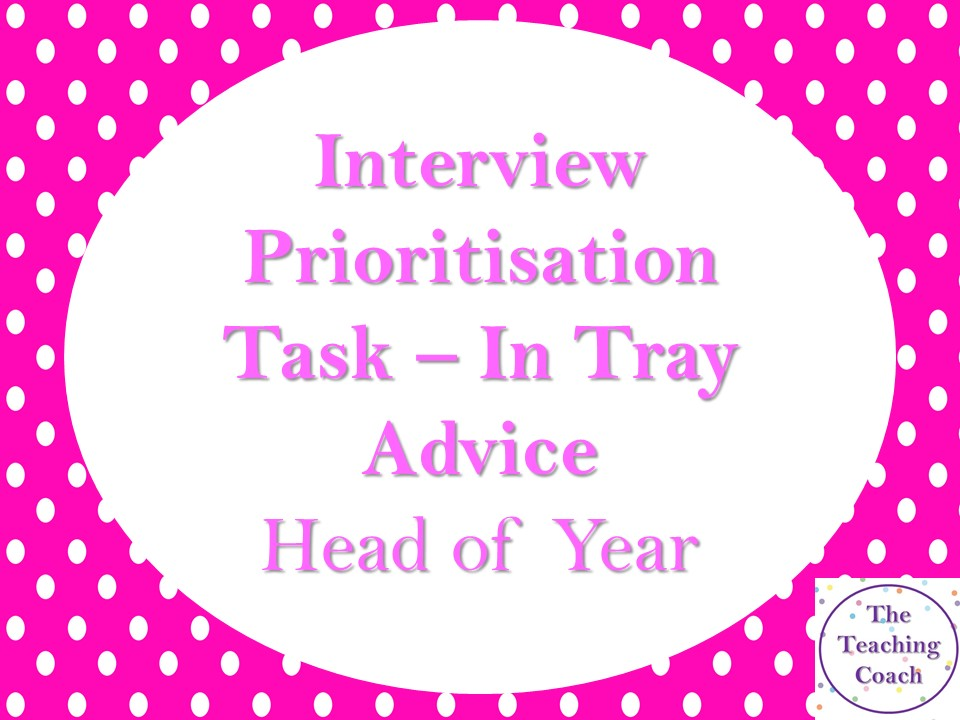 Interview Pastoral Prioritisation In Tray Exercise Task Guidance Help Example