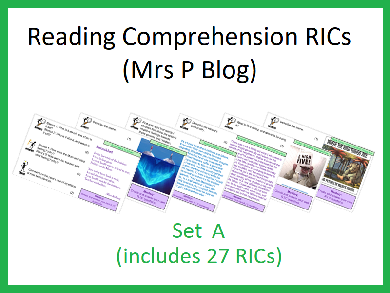 RICS Set A (Reading Comprehension)