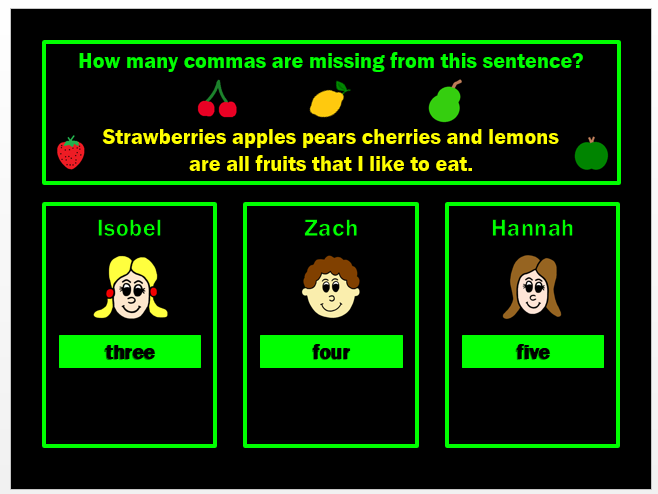 SPAG Test Revision PPT Powerpoint Game for Y3 by Grammatickx