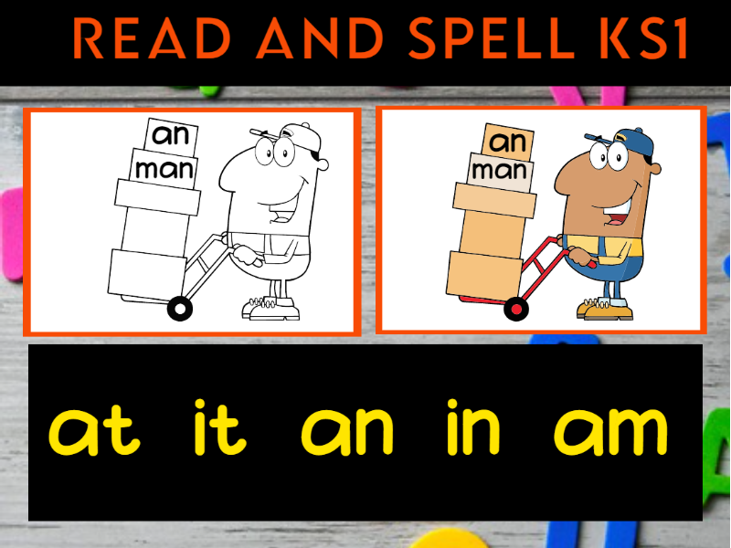 Read and Spell Assessment Sheets KS1