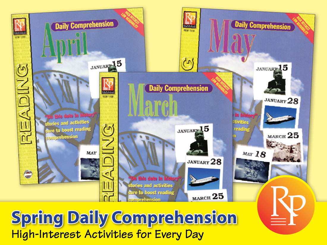 Spring Daily Comprehension {Bundle}