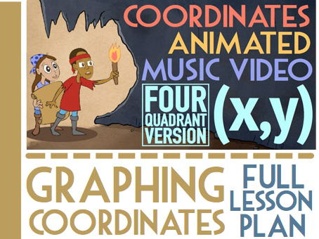 Coordinate Plane 4 Quadrants: Fun Maths Revision Activities