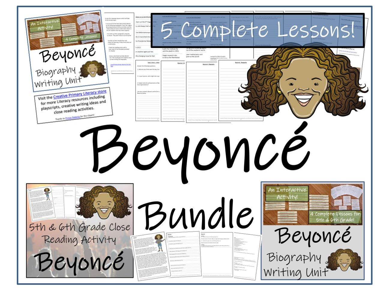 UKS2 Literacy - Bundle of Beyoncé Activities