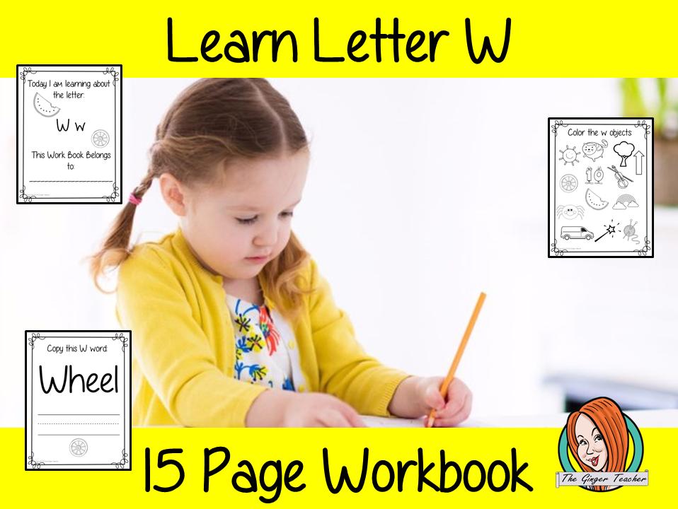 Alphabet Book Letter W