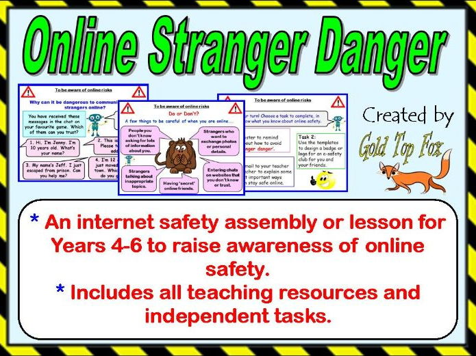 Online Stranger Danger Assembly or Lesson (Primary Internet Safety & E-Safety)