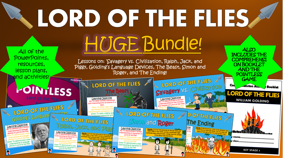 Lord of the Flies Huge Bundle!