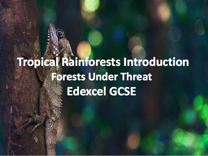 Tropical Rainforests Introduction