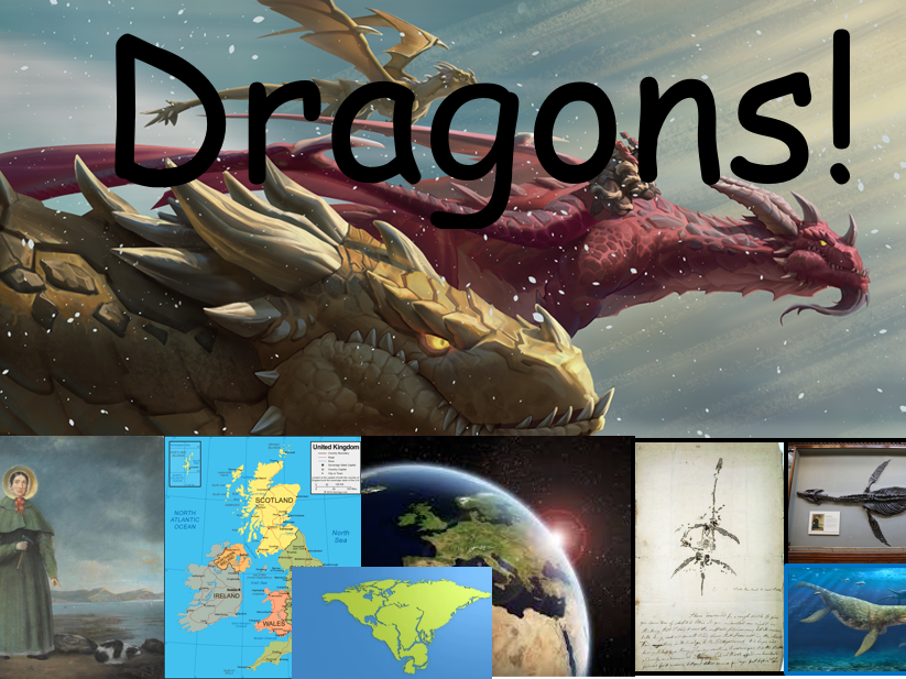 4 weeks Art, History & Geography Dragons! topic PowerPoint ks1