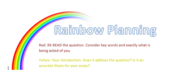 essay rainbow edits
