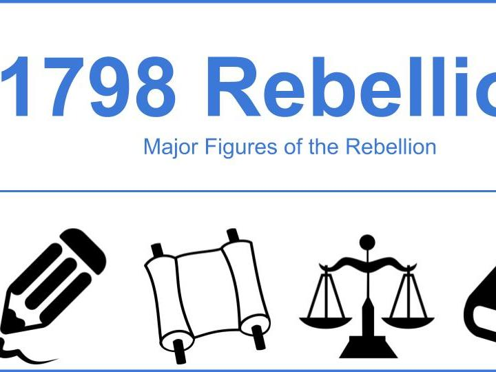 Major Figures of the 1798 Rebellion