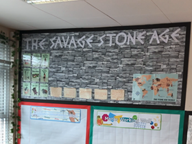 Stone Age Display Lettering