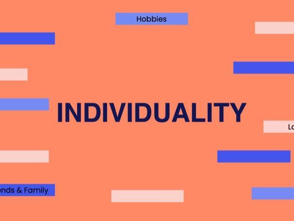 Ethos Lesson: Individuality