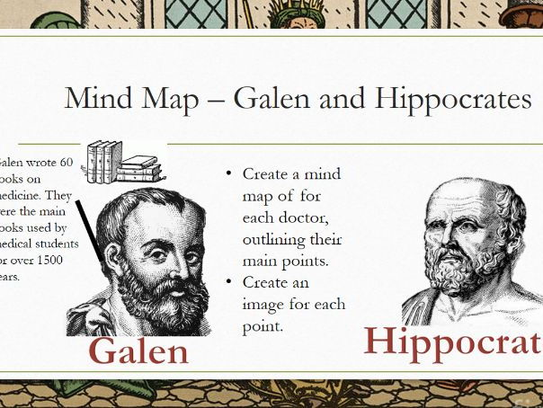 hippocratess and galens ideas essay 1008 galen or hippocrates 1 walt: decide who was more significant galen or hippocrates  most ideas only worked for the rich who could afford to follow hippocratic ideas 5  by the end of the lesson you will be writing an essay based on the significance of galen and hippocrates and their influence on the prevention and cure of disease.