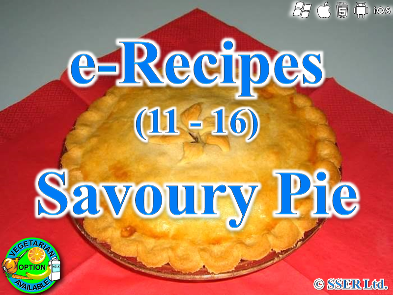 54.   Savoury or Sweet Pie (e-Recipe)