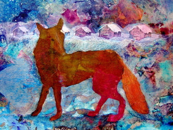 'The Thought Fox' poem by Ted Hughes