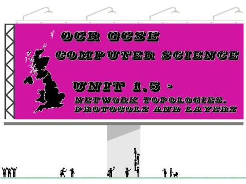 OCR GCSE Computer Science Unit 1.5 – Network topologies, protocols and layers (Key vocabulary)