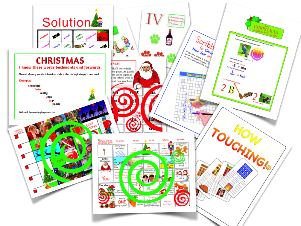 Merry Christmas! (All my English Christmas resources) .