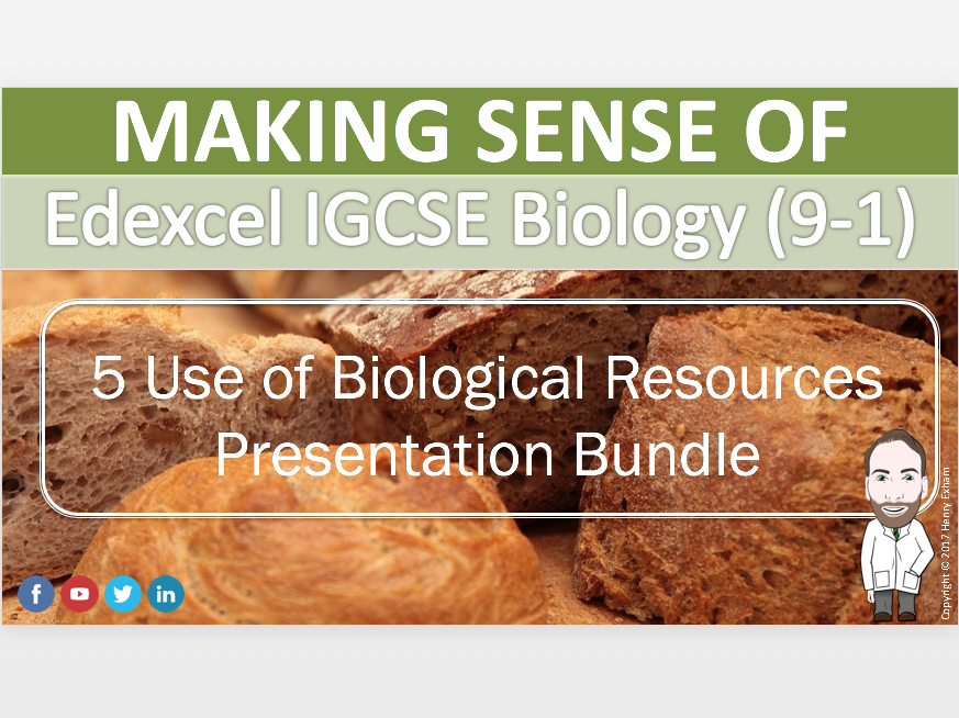 Section 5 Presentation Bundle - IGCSE Biology 9-1