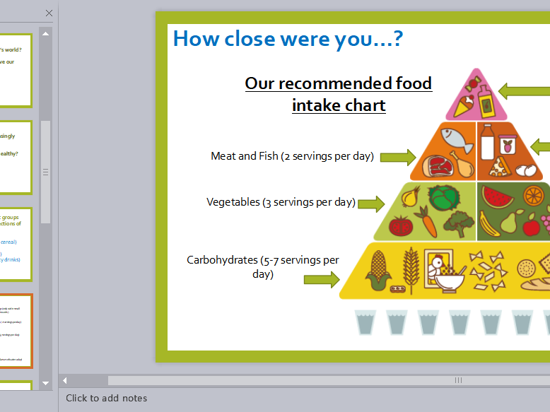 Year 5/6 Science PSE Diet, Exercise and Adaptation of Humans Lesson Plan, Presentation & Activities