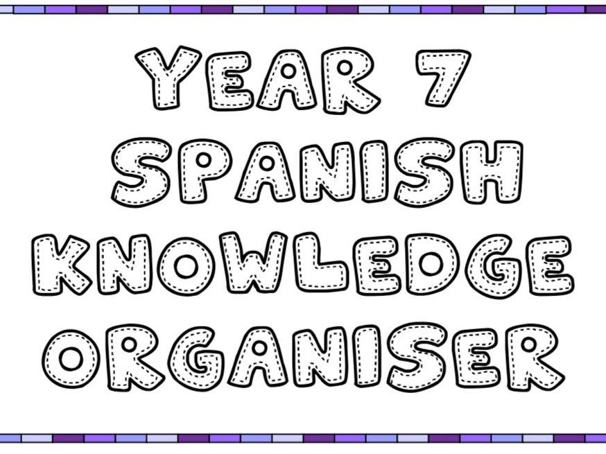 Y7 Viva 1 knowledge organiser
