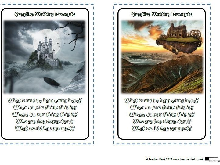 Creative Writing Prompts Tolsby Frames