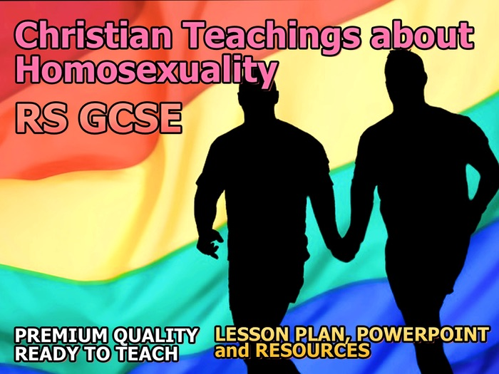 Christian Teachings about Homosexuality AQA 9-1 GCSE (Relationships and Families 3.1)