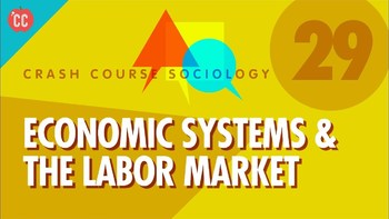 Crash Course Sociology E#29 Economic Systems & The Labor Market Q & A Key